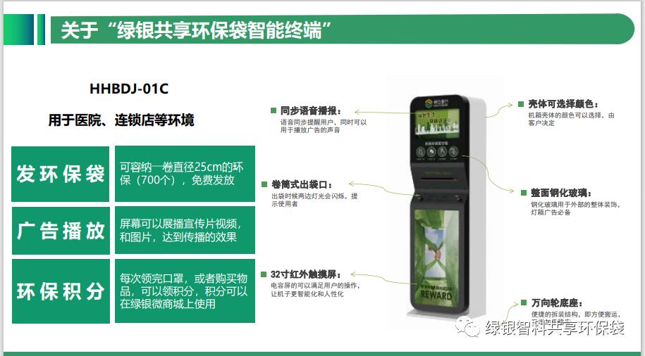绿色银行生物降解环保袋自助机项目介绍插图12